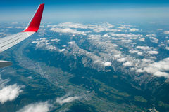 Innsbruck and the Alps Royalty Free Stock Images