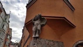 Innsbruck arkitektur Arkivfoton