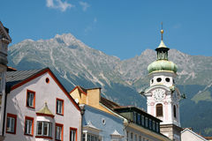 Innsbruck in Austria Royalty Free Stock Image