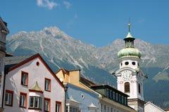 Innsbruck in Austria Immagine Stock Libera da Diritti