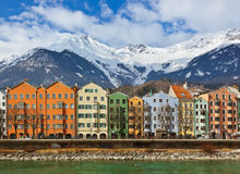 Innsbruck Austria. Architecture and nature background Stock Photos