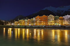 Innsbruck Austria. Architecture and nature background Royalty Free Stock Photos
