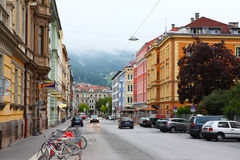 Innsbruck morning Stock Photos