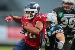 Raiders vs . Broncos Stock Photo