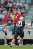 Raiders vs . Broncos Stock Photography