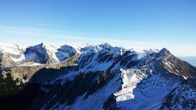 Innsbruck, Austria. Top view at Innsbruck, Austria stock photos