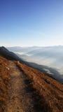 Innsbruck, Austria. Top view at Innsbruck, Austria stock photo
