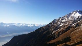 Innsbruck, Austria. Top view at Innsbruck, Austria stock image