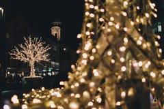 Innsbruck bożych narodzeń rynki Obraz Royalty Free