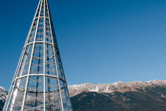 Innsbruck bożych narodzeń rynki Obrazy Stock
