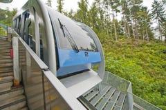 Innsbruck Cable Car Stock Photo