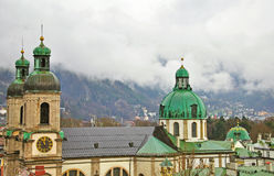 Innsbruck cathedral Royalty Free Stock Photography