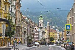 Innsbruck Center Royalty Free Stock Photos