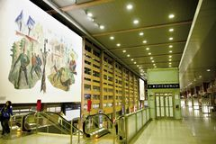 Innsbruck Central station - interior Stock Images