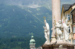 Innsbruck city Royalty Free Stock Photography