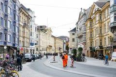 Innsbruck city Royalty Free Stock Image