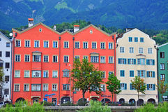 Innsbruck cityscape, Austria Royalty Free Stock Photos