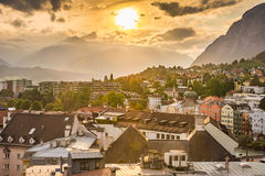 Innsbruck cityscape Royalty Free Stock Images