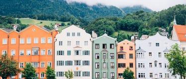 Innsbruck cityscape Austria