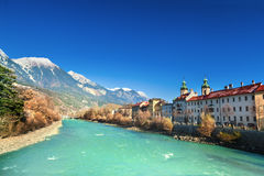 Innsbruck cityscape, Austria Royalty Free Stock Image