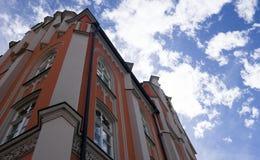 Innsbruck cityscape royalty free stock photo