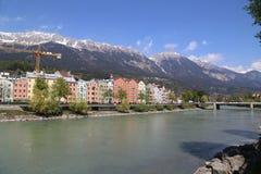 Innsbruck en Autriche image libre de droits