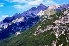 Innsbruck góry sceneria Obrazy Stock