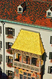 Innsbruck Golden Roof Stock Photography
