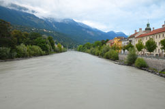 Innsbruck inn river Royalty Free Stock Images
