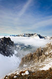 Innsbruck mountains Royalty Free Stock Photos