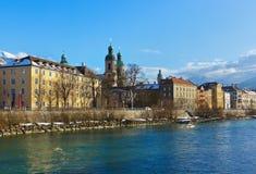 Innsbruck Oostenrijk Royalty-vrije Stock Fotografie