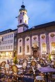 Innsbruck - Oude stad Stock Afbeeldingen