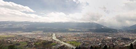 Innsbruck Panorama Stock Photos