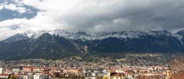 Innsbruck Panorama Stock Image