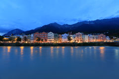 Innsbruck panorama Zdjęcie Stock