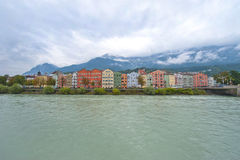 Innsbruck Panorama Stock Images