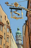 Innsbruck pittoresque Images stock