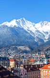 The Innsbruck places Stock Photo