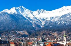 The Innsbruck places Stock Photography