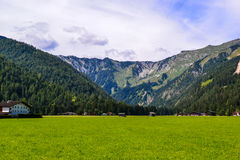 Innsbruck pogórzy góry sceneria Obrazy Stock