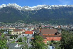 Innsbruck scenery Royalty Free Stock Image
