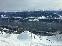 Innsbruck - Skiland - paesaggio Immagini Stock