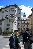 Innsbruck Street.Austria. Royalty Free Stock Photo