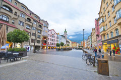 Innsbruck Streets Royalty Free Stock Images