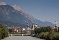 Innsbruck - town in Austria Stock Images