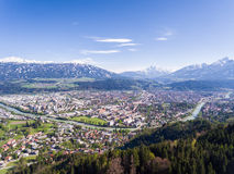 Innsbruck in Tyrol, Austria Royalty Free Stock Photo
