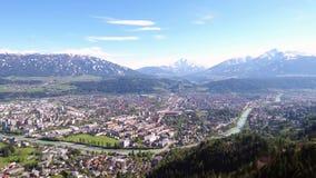 Innsbruck in Tyrol, Austria stock video