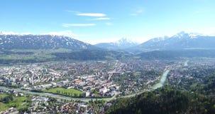 Innsbruck in Tyrol, Austria stock footage