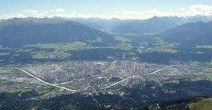 Innsbruck, Tyrol. Innsbruck capital city of Tyrol in western Austria Royalty Free Stock Images