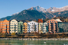 Innsbruck w zimie Obrazy Royalty Free